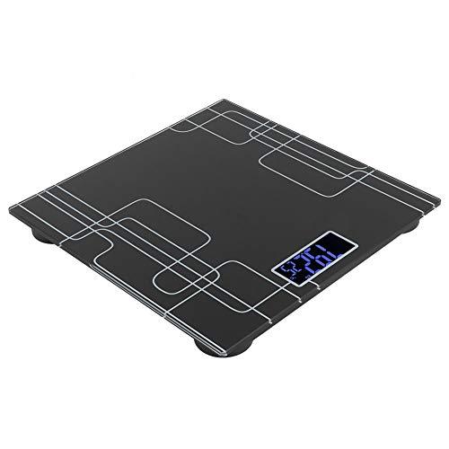 Sale!! Taidda- Portable Body Weight Scale, Black Waterproof Tempered Glass Weight Balance, Kitchen f...