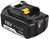 Reoben BL1860B 18V 5.5Ah Repuesto de batería de litio para Makita BL1850B BL1850 BL1840 BL1830 BL1835 BL1845 BL1845 LXT-400 Herramientas eléctricas inalámbricas