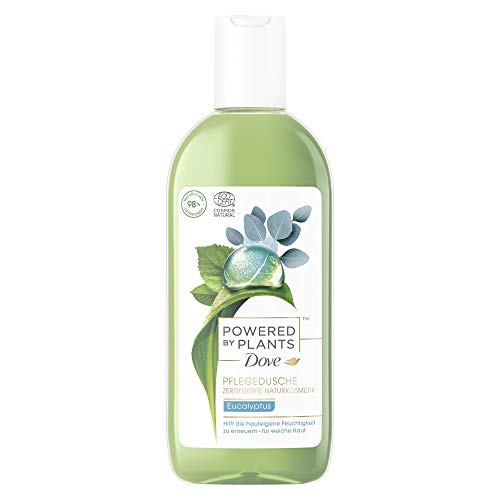 Dove Powered by Plants Naturkosmetik Pflegedusche Eucalyptus mit pflanzenbasierten Wirkstoffen natürlichen Ursprungs für eine pflegende Reinigung der Haut, 6er Pack (6 x 250 ml)