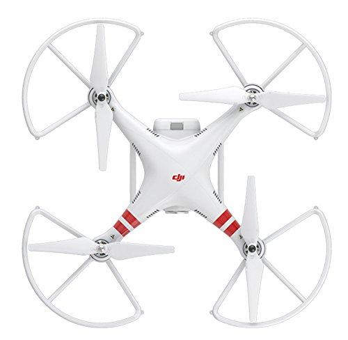 DJI DJIP1PRG Schutzbügel (4er Satz) für Phantom 1 UAV Aerial Quadrocopter Drohne weiß