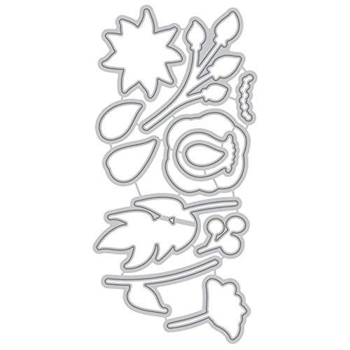 Bloemblaadjes Metaal Snijden Dies Planten Postzegels en Sterfjes Scrapbooking Decoratie Embossing Album Card Craft Nieuwe 2019,Metalen Snijden Dies,Verenigde Staten