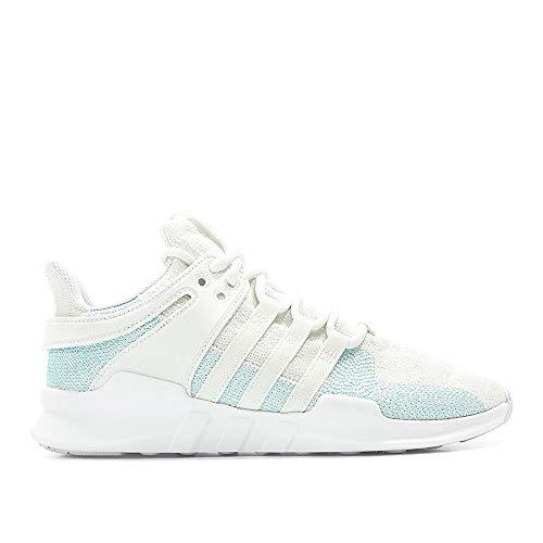 adidas, EQT Support Hoge sneakers voor heren, wit (wit/blauw/wit/blauw), maat 40 2/3 EU