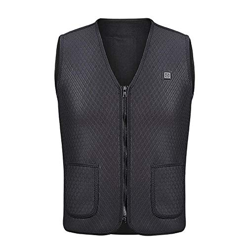 Vest met verwarming usb warme jas winter mannen outdoor warme mouwloze vest klimmen