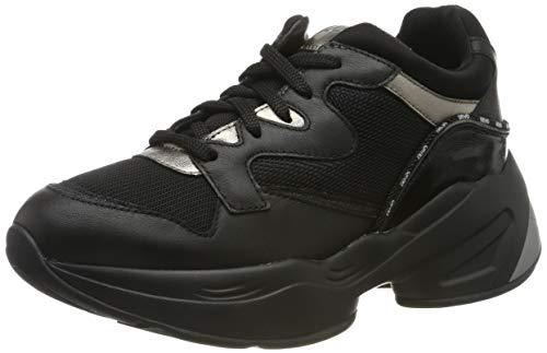 Liu Jo Shoes Jog 09 Sneaker, Scarpe da Ginnastica Basse Donna, Nero (Black 22222), 41 EU