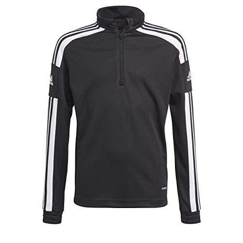 adidas GK9561 SQ21 TR Top Y Pullover Unisex-Child Black/White 910A 🔥
