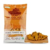 Organic Soul -Turmeric ( Sabut Haldi / Salem / Haldi Gathiya) Whole Sticks | Natural & Pure - 100gm