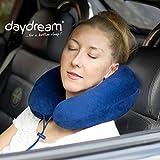 daydream PREMIUM-Reise-Nackenkissen mit Memory Foam, verschiedene Farben (N-5400),Nackenhörnchen,...
