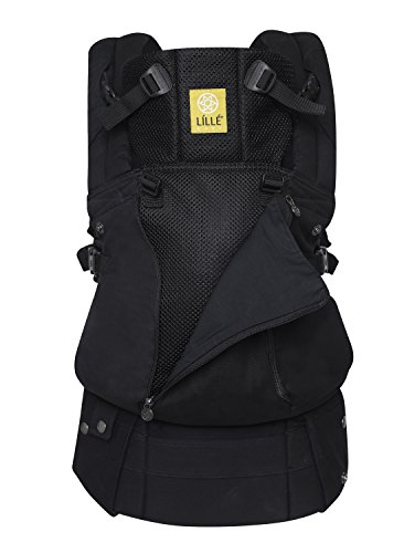 LÍLLÉbaby Complete All Seasons SIXPosition 360° Ergonomic Baby amp Child Carrier Black
