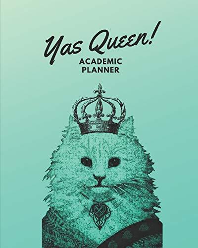 Yas Queen!: Yas Queen! Academic Journal 8 x 10 Daily Journal July 1 - December 31, 2019 Green Ombre