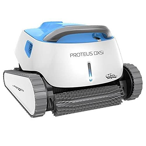 DOLPHIN Proteus DX5i Robotic Pool Cleaner with Bluetooth Capabilities for Stress-Free Pool Cleaning,...
