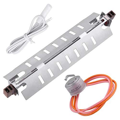 Fltaheroo WR51X10055 Reemplazos del Calentador de DescongelacióN del Refrigerador WR55X10025 Sensor de Temperatura del Refrigerador, Termostato de DescongelacióN