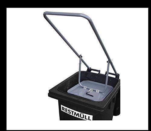 HausmÜLL - Molinillo compacto con placa de acero para 120 litros