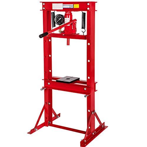 Werkstattpresse Hydraulikpresse 12T Presse mit Manometer