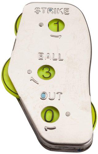 mpowered Baseball DREI Funktion eckig Schiedsrichter Indikator (Metall)