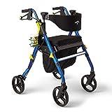 Medline Premium Empower Rollator Walker with Seat,...