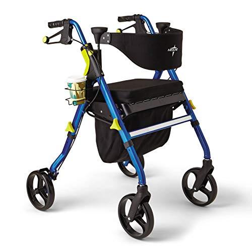 Medline Premium Empower Rollator Walker