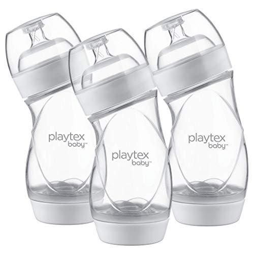 Playtex Baby Ventaire Flasche, hilft Koliken und Reflux, 266 ml, 3 Stück