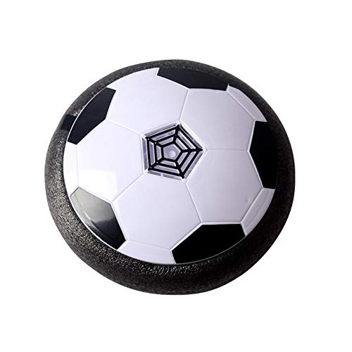 REWD Kids Hover Soccer Ball Toys Set Kids Electric Football Disc Ball with Foam Bumpers Indoors Outdoors Training Football with Parents Game