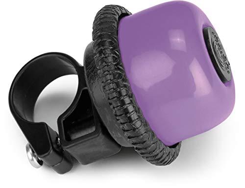 Puky G 20 Drehring-Glocke/Klingel für Laufräder und Scooter lila