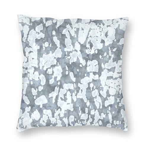 BONRI Abstracto Gedämpftes grafisches Motiv Malerischer quadratischer Kissenbezug 18 'X18' Weich und pflegeleicht, leicht, faltenfrei, schmutzabweisend, unsichtbarer, hochwertiger Reißverschluss