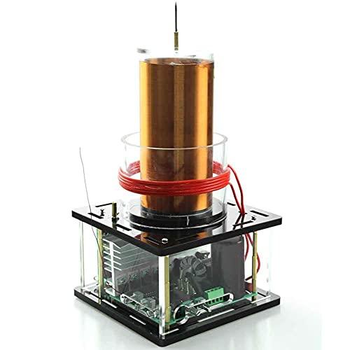 BJH Sonda de Arco, Altavoz de Plasma de Arco Musical, Modelo de Juguete de Escritorio para experimentos, fácil Ajuste, Amplio Rango de Voltaje