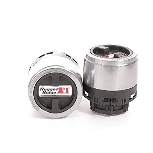 Rugged Ridge 15001.70 27 Spline Internal Mount Manual Locking Hub for 1998-2000 Ford Ranger and 2001-2008 Mazda B-Series Pickup
