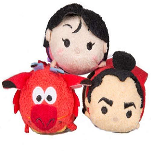letaowl Plüschtier Film Mulan Mushu Roter Drache Soft Stuff Plüschtier Puppe Kinder Geburtstagsgeschenk Sammlung Zufälliger Stil