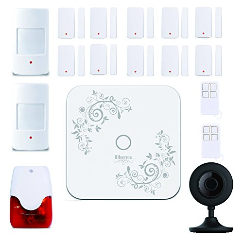 PiSector 4G Cellular GSM Wireless Security Alarm System Quad-band Support 2G/3G/4G network