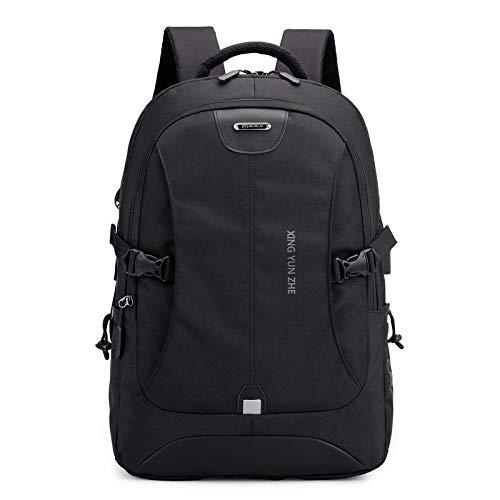 GDMXYD Sac à dos pour ordinateur portable - Avec protection antivol - Port de charge USB - 39,6 cm - Étanche - Style décontracté - Grand sac d'école pour garçon/homme/femme