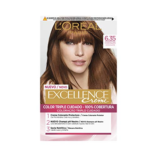L'Óreal Paris Excellence Creme 6.35 Chocolate - 1