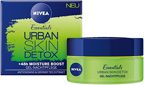 Nivea Urban Skin Detox Regenerierende Nachtpflege, 3er Pack (3 x 50 ml)