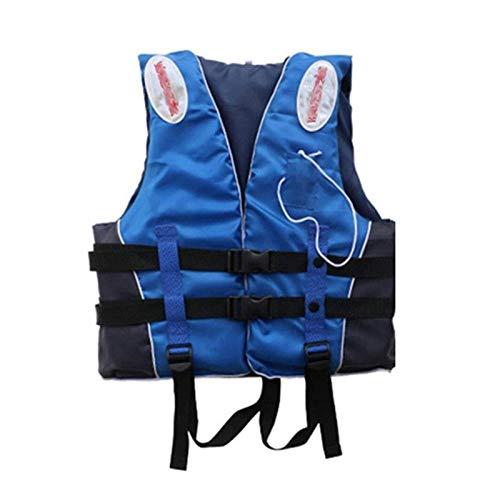CCCMS Chaleco de Vida Profesional Niños Adultos Reflectante Chaleco Salvavidas Ajustable para Nadar Kayak Snorkel Paddle Boarding-Unisex (Size : XX-Large)