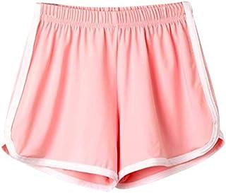 TS#501 Women Lady Summer Sport Shorts Beach Short Pants Yoga : Pink, S
