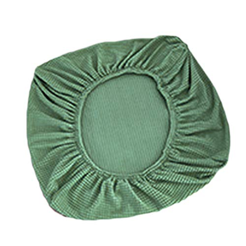 Rosepoem Funda para muebles, funda protectora para muebles de exterior, lavable y antiarrugas, no se hace bolitas, malla de alta elasticidad, lavable azul de 50 a 65 cm verde de 50 a 65 cm