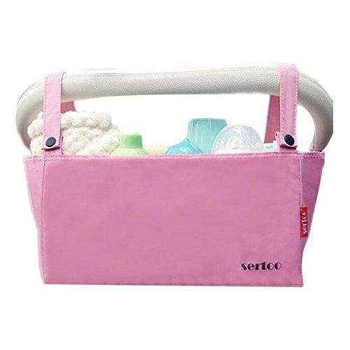 Poussette bébé accessoires, Organisateur, poussette Organisateur Sac [rose]