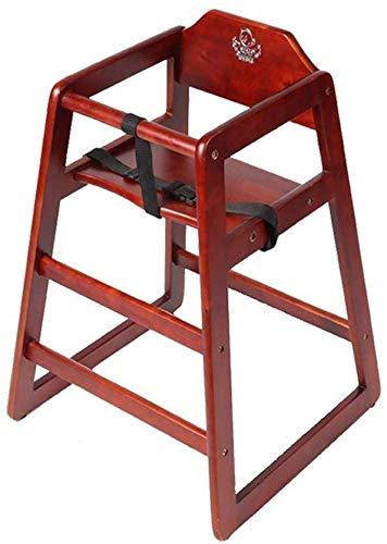 HJW Tabouret pratique pour bébé Chaise haute en bois massif Garçon Fille Chaise de salle à manger Bébé Dinette
