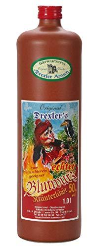 (25,95€/L) Original Drexler's echter Blutwurz | 50% vol. | 1l.