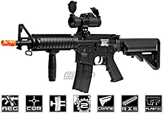 Lancer Tactical LT02BL M4 MK18 Carbine AEG Airsoft Gun Low FPS Package (Black)