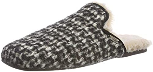 Living Kitzbühel Damen Pantoffel Tweed Innen Innen Innen Fell Pantoffeln  der klassische Stil