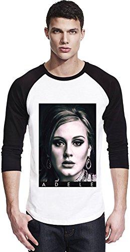 Adele Portrait Photo Famous Merchandise Unisex Baseball Shirt Large