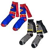 JasmyGirls Superhelden Crew Socken Comics Socken mit Flügeln Anime Socken Character Socken Lustige Socken Cosplay Kostüm