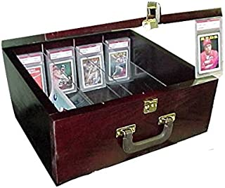 Pennzoni Display Storage Case for Baseball Alll Sports Cards Cherry P315C