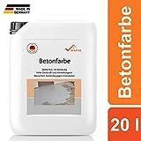BEKATEQ BE-700 Bodenbeschichtung, 20l Lichtgrau, Betonfarbe seidenmatt, für innen und außen