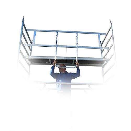 Alumexx X-Frame 250 (Hulp-Voorloopleuning) - Steiger Randbeveiliging - BS Rolsteiger - Steiger Onderdelen - Steiger - Toebehoren - Inklapbaar