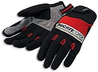 DUCATI SPIDI SPORT c2 PELLE RACING Guanti Gloves Rosso nuovo!!!