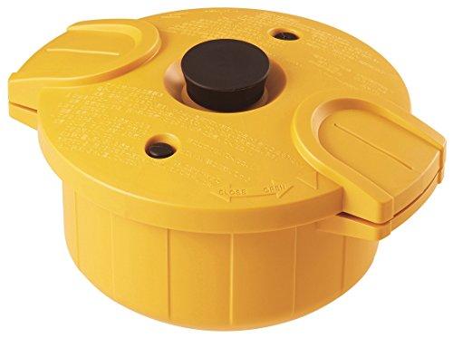 スケーター 電子レンジ 圧力鍋 極み味 日本製 イエロー MWP1