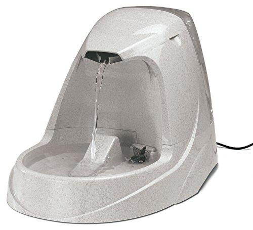 PetSafe - Fontaine Cascade Drinkwell Platinum 5 L pour Chien et Chat - Débit réglable - Retient les Odeurs et Bactéries