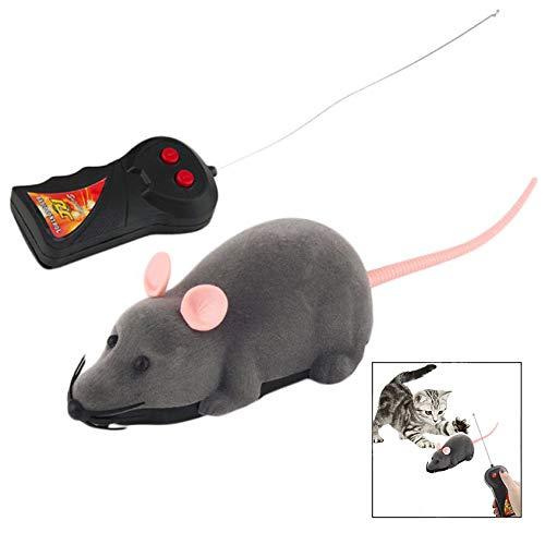 Enzege Juguete Teledirigido Gato, Juguete inalámbrico del ratón controlado, para el niño al Mejor Regalo del Gato Divertido