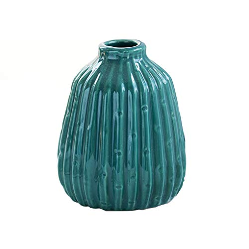 Jarrón Estilo Nórdico Pequeño Fresco Fresco Cerámica Creativa Decoración Decoración Decorativa Jarrón Decorativo (Color : Vase A)