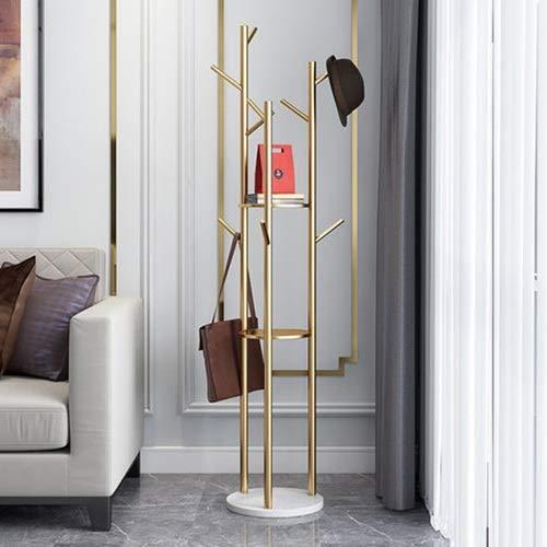 LSGD Fer patère Minimaliste Moderne Creative Salon Chambre Hanger marbre Simple portemanteau Hanger Ménage
